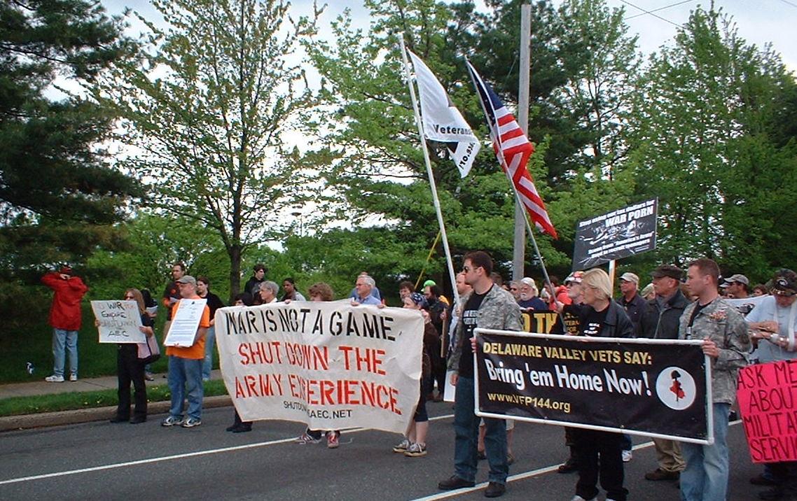 protest at AEC