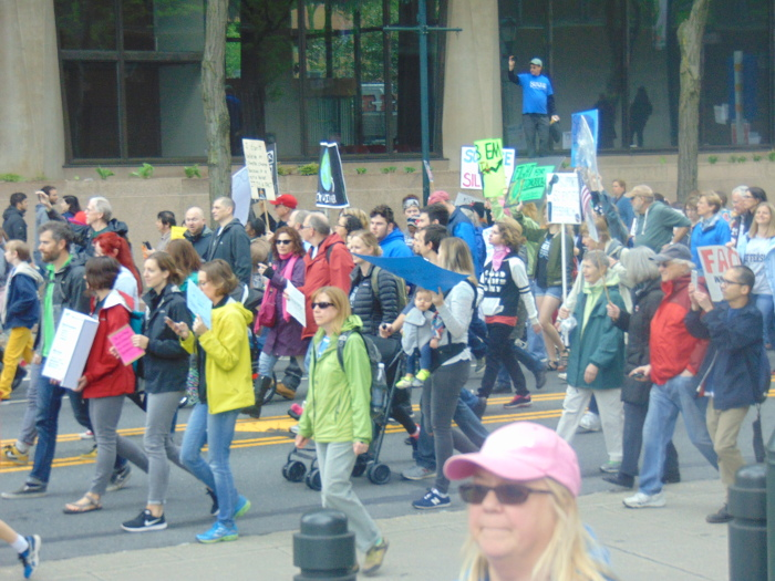 Marching near Liberty Bell